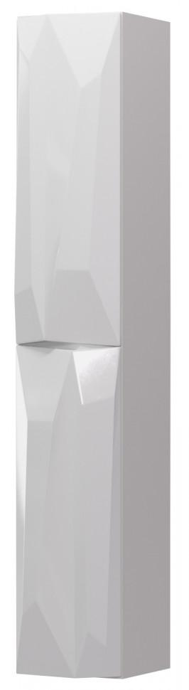 Пенал подвесной белый глянец R Aima Design Crystal У51085