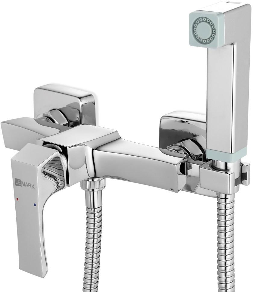 Смеситель с гигиеническим душем Lemark Unit LM4518C
