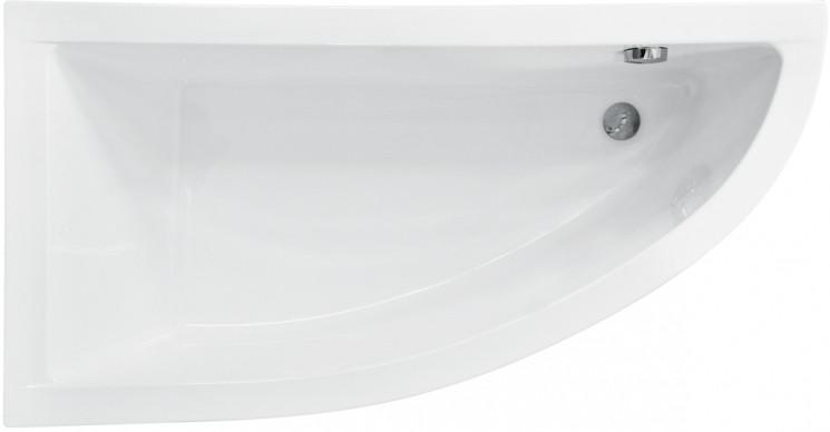 Акриловая ванна 150х70 см L Besco Praktika WAP-150-NL акриловая ванна besco bianka 150x95 l