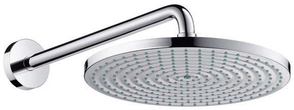 Верхний душ Hansgrohe Raindance S 300 Air 1jet, держатель 390 мм, ½' 27493000