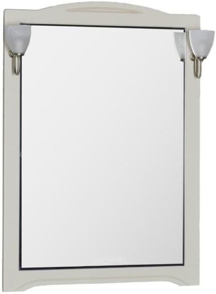 Зеркало 80х112 см бежевый Aquanet Луис 00173216 зеркало 80х112 см белый aquanet луис 00173217