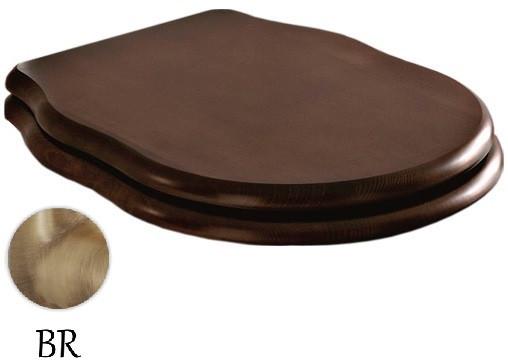 Сиденье для унитаза с микролифтом орех/бронза Artceram Hermitage HEA004 72 noce/br сиденье для унитаза с микролифтом орех бронза artceram hermitage hea004 72 noce br