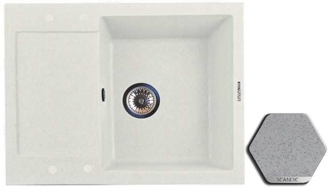 Кухонная мойка SCANDIC Lava L7.SCA цена и фото