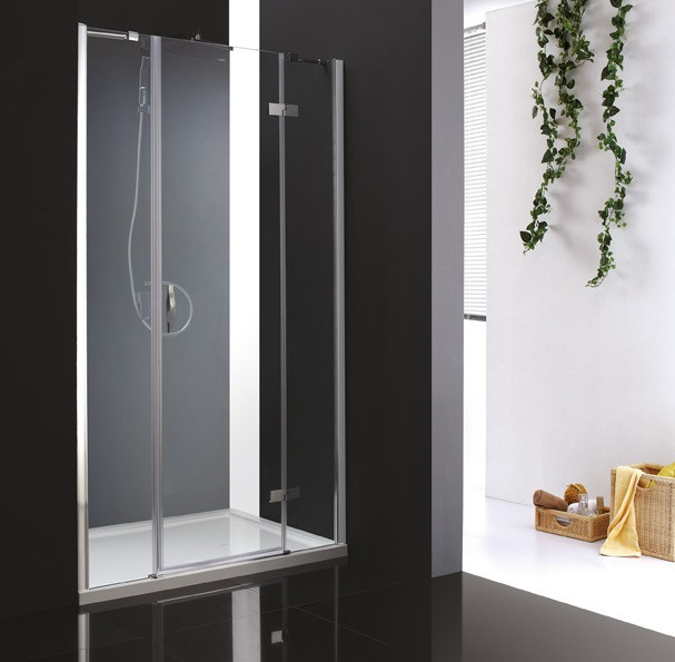 Душевая дверь распашная Cezares Bergamo 150 см текстурное стекло BERGAMO-W-B-13-30+60/60-P-Cr-R цена