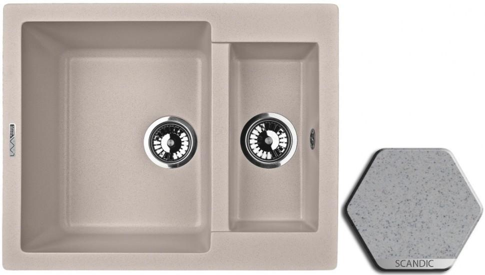 Кухонная мойка SCANDIC Lava D1.SCA цены