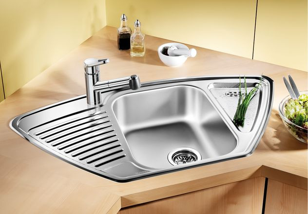 Кухонная мойка Blanco Tipo 9E Матовая сталь 511582 фото