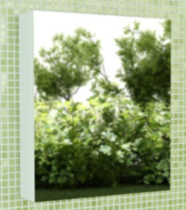 Зеркальный шкаф 60х70 см белый глянец Comforty Римини 00003130371 шкаф зеркальный topline rio 60х70 см правый белый