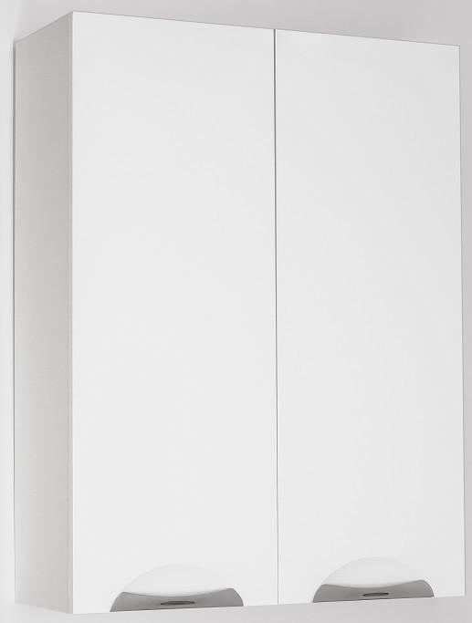 Шкаф двустворчатый подвесной белый глянец Style Line Жасмин LC-00000334 цена и фото