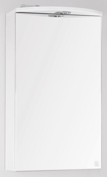 Фото - Зеркальный шкаф 40х71,8 см белый глянец Style Line Альтаир LC-00000310 зеркальный шкаф 60х83 см белый глянец style line жасмин lc 00000040