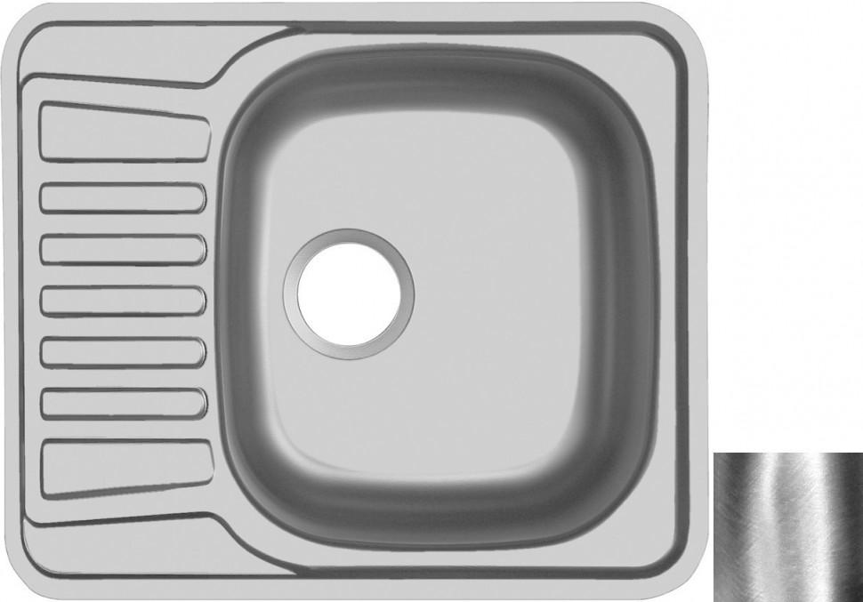 Кухонная мойка полированная сталь Ukinox Комфорт COP580.488 -GT6K 1R ukinox fad 760 470 gt6k l