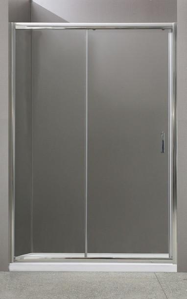 Душевая дверь раздвижная BelBagno Uno 130 см прозрачное стекло UNO-BF-1-130-C-Cr