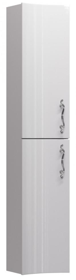 Пенал подвесной белый глянец L Aima Design Amethyst У51086