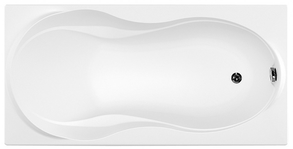 Акриловая ванна 180х80 см Aquanet Grenada 00205395 акриловая ванна aquanet delight 208600 170x78