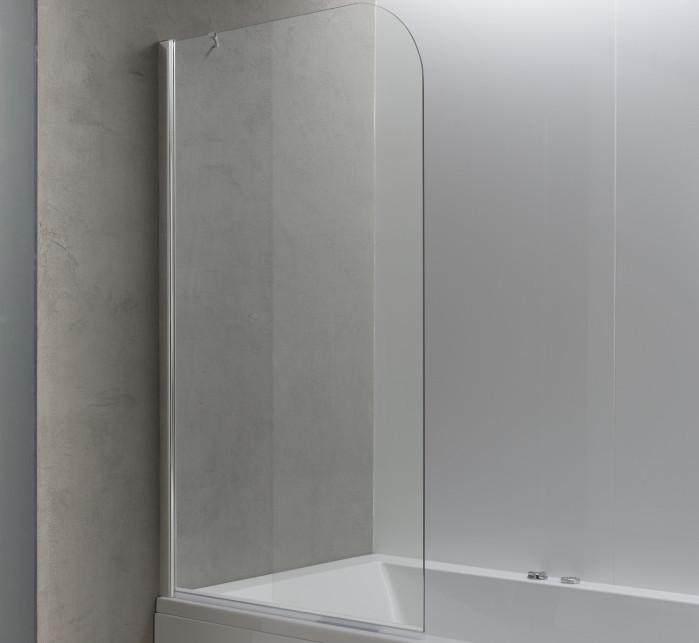 Шторка для ванны 80 см Kolpa San Terra TS прозрачное