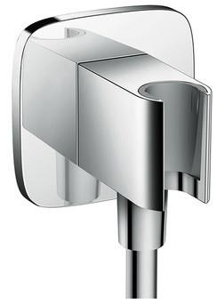Шланговое подключение с держателем для душа Hansgrohe Fixfit Porter E 26485000