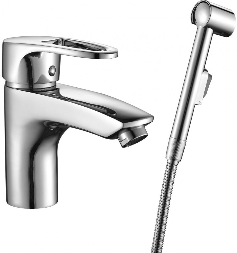 Смеситель с гигиеническим душем Decoroom DR67015 фото