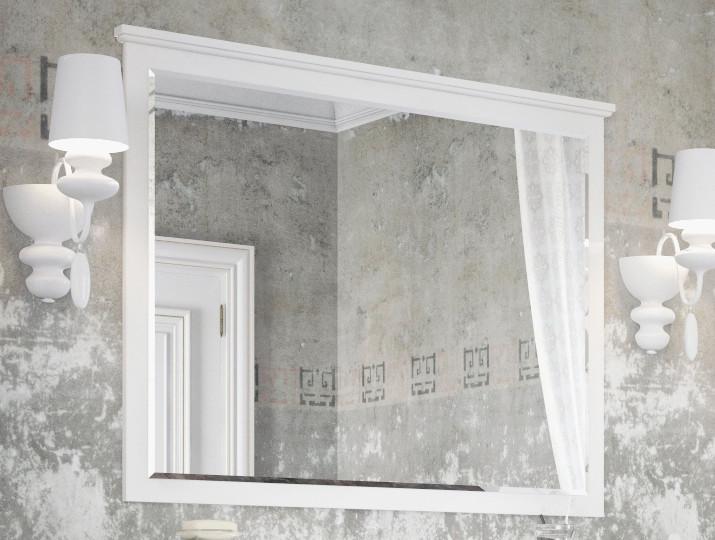 Зеркало 105х80 см белый матовый Corozo Таормина SD-00000273 sd h1 1000m матовый