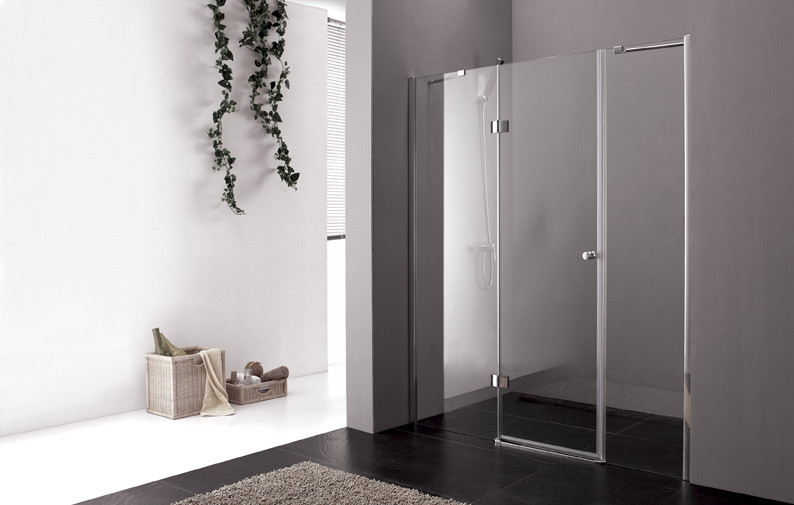 Душевая дверь распашная Cezares Verona 140 см текстурное стекло VERONA-W-B-13-40+60/40-P-Cr-L душевая дверь распашная cezares verona 235 см текстурное стекло verona w b 22 240 p cr