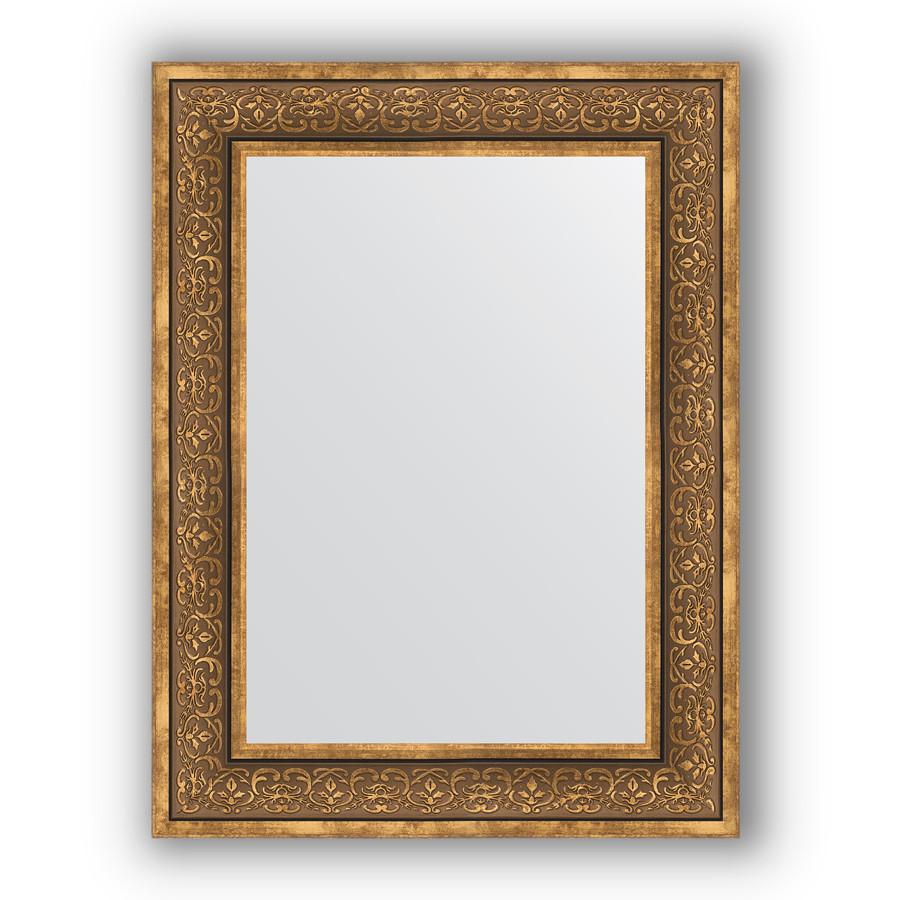 Зеркало 63х83 см вензель бронзовый Evoform Definite BY 3063 зеркало evoform definite 153х63 вензель бронзовый