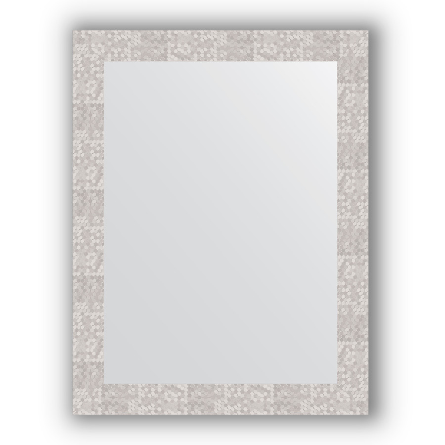 Зеркало 66х86 см соты алюминий Evoform Definite BY 3179 зеркало evoform definite floor 197х108 соты алюминий
