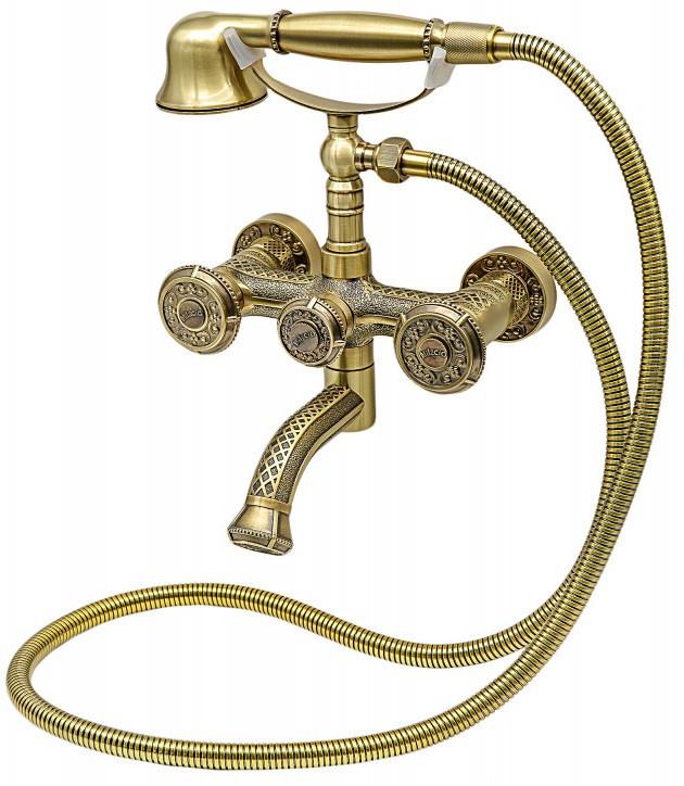 Смеситель для ванны Milacio Almeria MC.301.BR фото