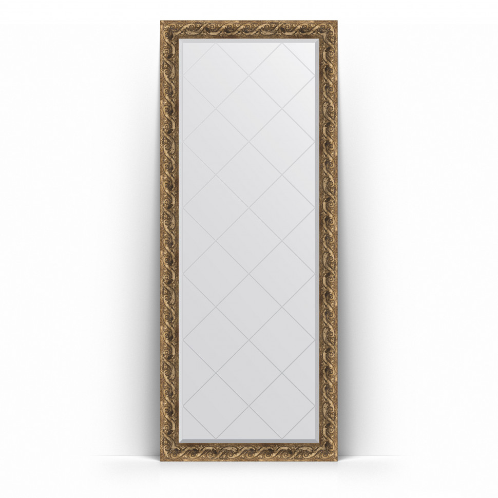 Зеркало напольное 81х200 см фреска Evoform Exclusive-G Floor BY 6311 зеркало evoform exclusive g 185х131 фреска