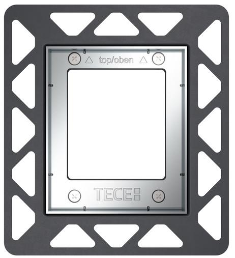 Монтажная рамка глянцевый хром TECE 9242649 монтажная рамка tece square 9240648
