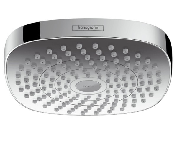 Верхний душ Hansgrohe Croma Select E 2jet 26524000 верхний душ hansgrohe croma select e 180 26524000 хром