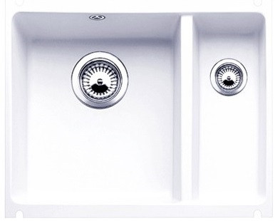 Кухонная мойка Blanco Subline 350/150-U глянцевый белый 514522 фото