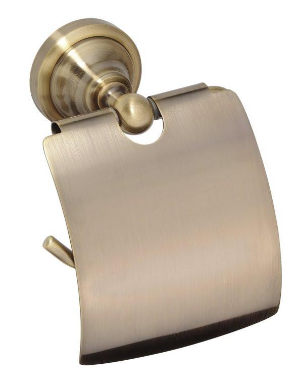 Держатель туалетной бумаги Bemeta Retro 144112017 держатель туалетной бумаги bemeta с крышкой 150x90x150мм 104212012