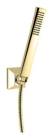 Ручной душ со шлангом 150 см и держателем золото 24 карата Cezares Legend LEGEND-KD-03/24 верхний душ золото 24 карата cezares legend czr tdd1 03 24