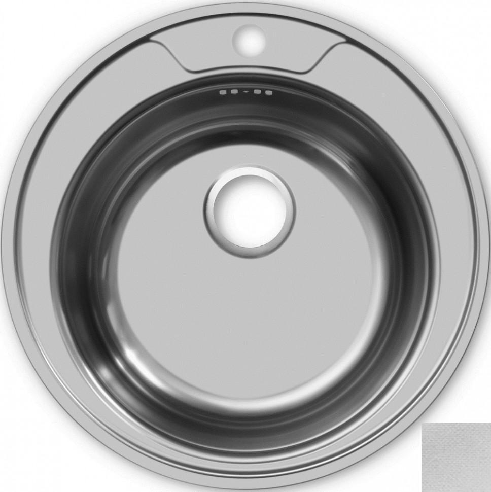 Кухонная мойка декоративная сталь Ukinox Фаворит FAL510 -GT8K 0C ukinox fal510 gt8k 0c