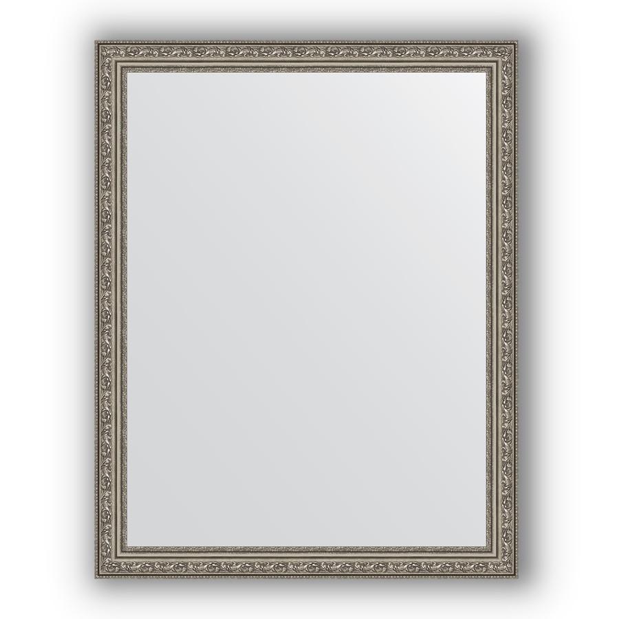 Фото - Зеркало 74х94 см виньетка состаренное серебро Evoform Definite BY 3264 зеркало 64х114 см виньетка состаренное серебро evoform definite by 3200