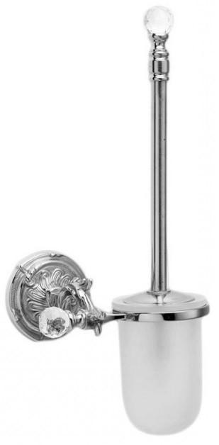 Ершик для унитаза хром Art&Max Barocco Crystal AM-1785-Cr-C
