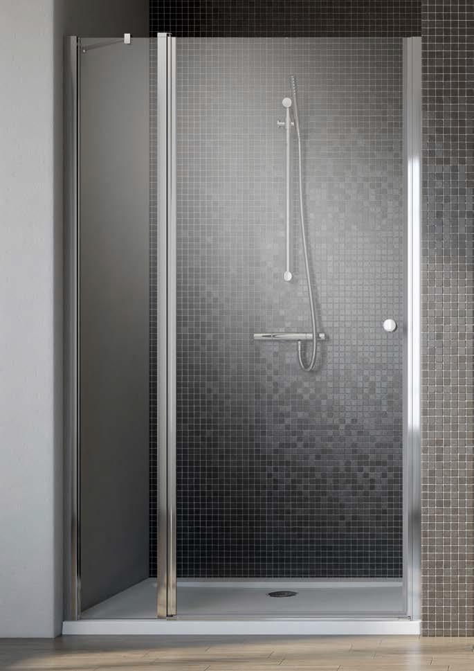 Душевая дверь Radaway EOS II DWJ 90 L прозрачное душевая дверь radaway carena dwj 90 l хром коричневое