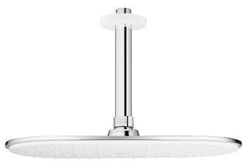 Grohe Rainshower Veris 26059LS0 Набор верхний душ с потолочным душевым кронштейном 142 мм (Белая луна) цены