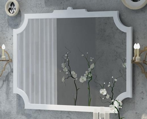 Зеркало 105х80 см белый матовый Corozo Манойр SD-00000272 sd h1 1000m матовый