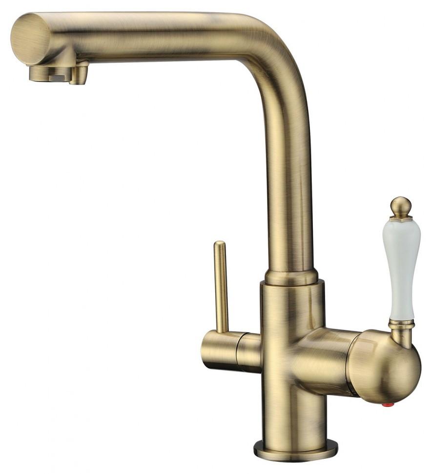 Смеситель для кухни с подключением к фильтру Kaiser Vincent 31144-3 смеситель для кухни kaiser boss хром 51044 51144