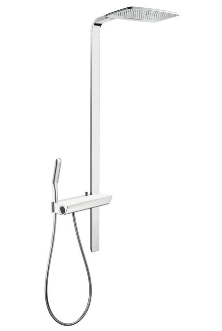 Душевая система Hansgrohe Raindance E 420 Air 2jet Showerpipe 27149000