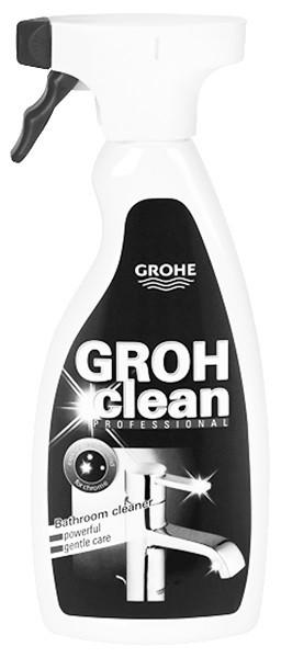 Чистящее средство для сантехники Grohe Grohclean 48166000 glorix чистящее средство для пола деликатные поверхности 1л