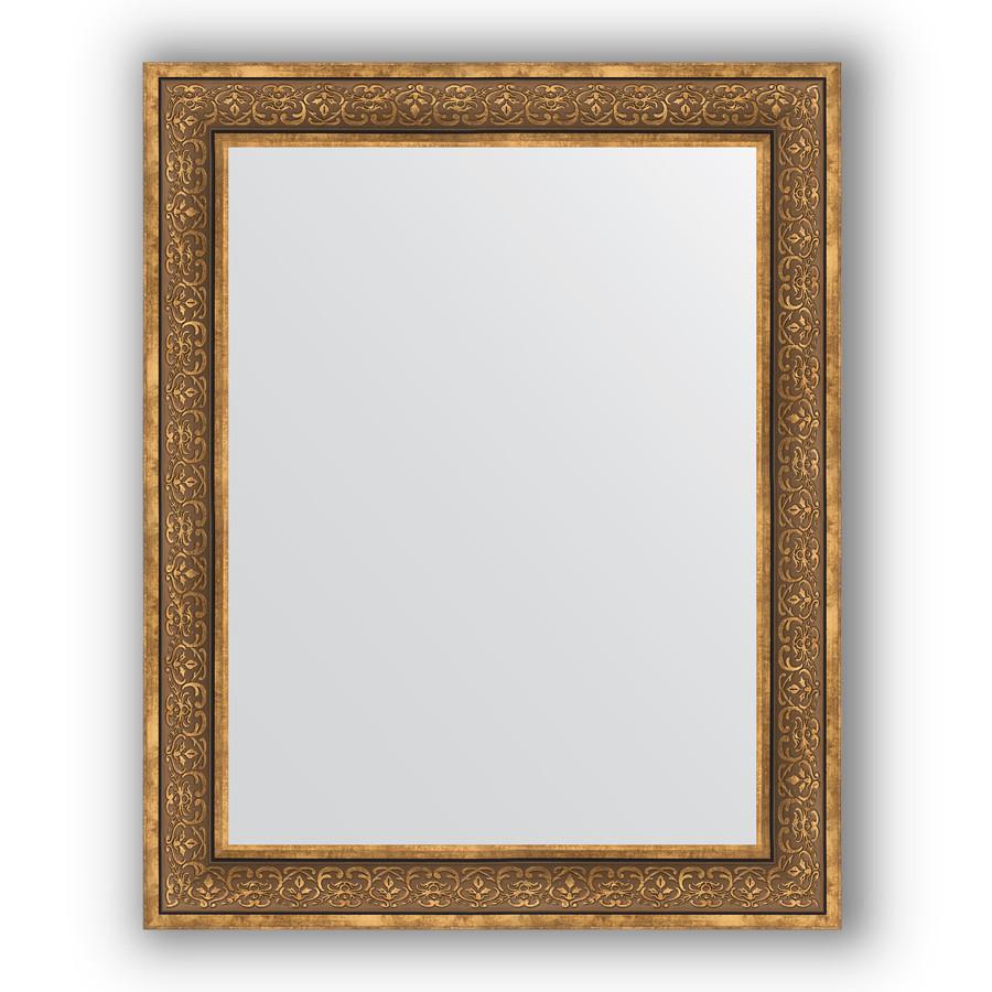 Зеркало 83х103 см вензель бронзовый Evoform Definite BY 3287 зеркало evoform definite 153х63 вензель бронзовый