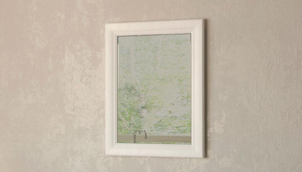 Зеркало 55х70 см белый Velvex Alba zkALB.55-210 фото