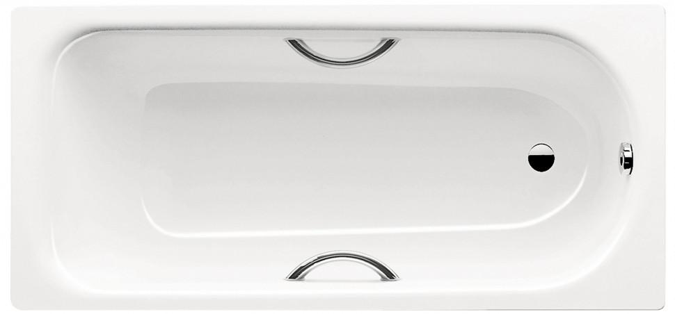 Стальная ванна 160х70 см Kaldewei Saniform Plus Star 332 с покрытием Anti-Slip и Easy-Clean фото
