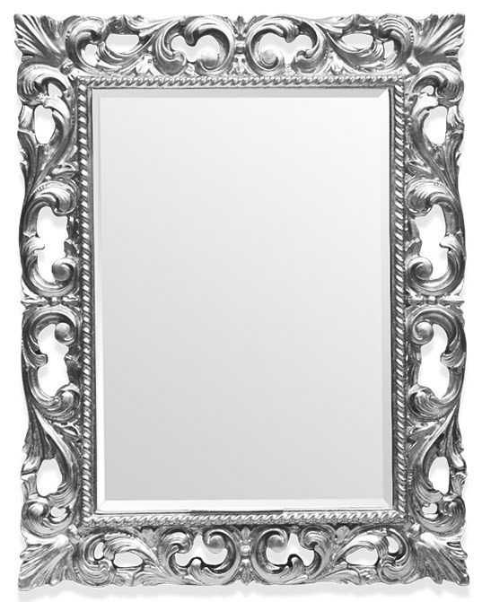 Зеркало 75х95 см глянцевое серебро Tiffany World TW03427arg.brillante цена 2017