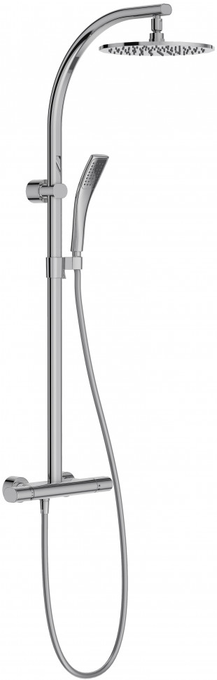 Фото - Душевая система Jacob Delafon Talan E11717RU-CP душевая лейка 90 мм jacob delafon citrus e12902 cp