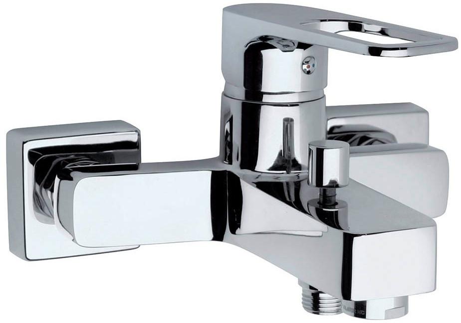 Смеситель для ванны Paini Flat KKCR1112SLMKM термостат для ванны paini lady 89op105thkm