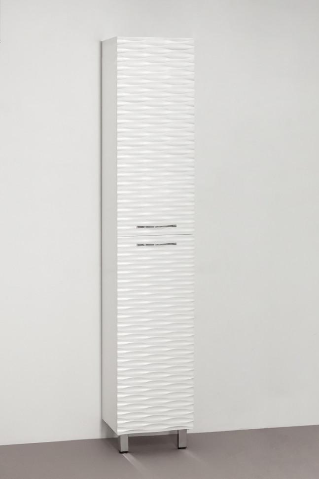 Пенал напольный техно платина Style Line Ассоль LC-00000357