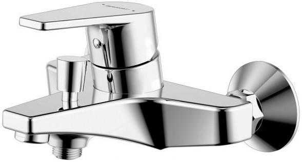 Фото - Смеситель для ванны Bravat Line F65299C-B-RUS смеситель для ванны bravat art короткий излив бронза f675109u b1 rus