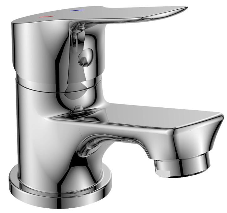 Смеситель для раковины без донного клапана Rossinka RS29 RS29-11 смеситель для ванны rossinka silvermix rs29 33