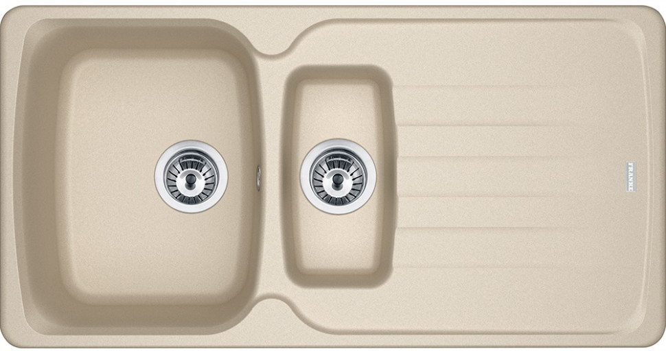 Кухонная мойка Franke Antea AZG 651 бежевая 114.0489.382 кухонная мойка franke antea azg 620 бежевая 114 0489 301